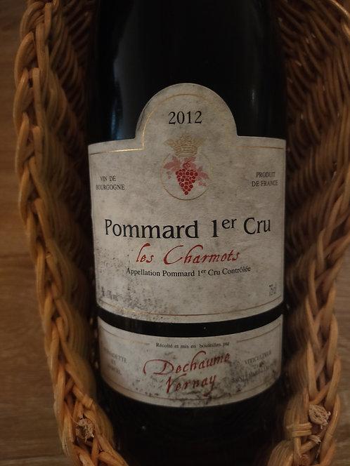 """Pommard 1er Cru """"Les Charmots"""", 2012, Domaine Dechaume Vernay"""