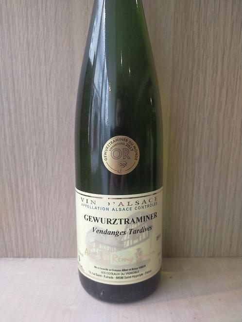 Alsace Gewurztraminer Vendanges Tardives, 2015, Domaine Aline et Remy Simon