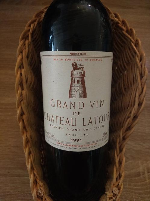 Pauillac, 1991, Château Latour