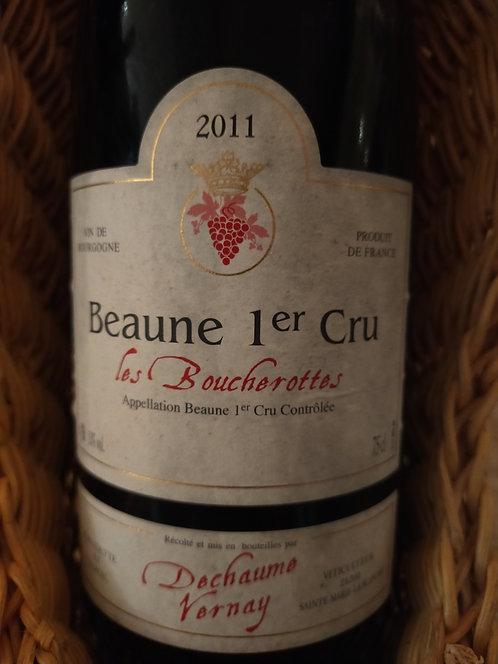 """Beaune 1er Cru """"Le Boucherottes"""", 2011, Domaine Dechaune Vernay"""