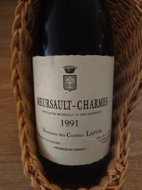 """Meursault 1er Cru """"Charmes"""", 1991, Domaine des Comtes Lafon"""