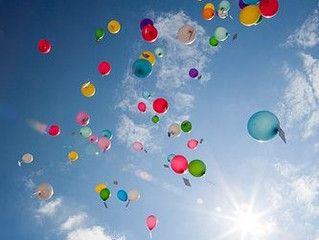 Balloons in Heaven