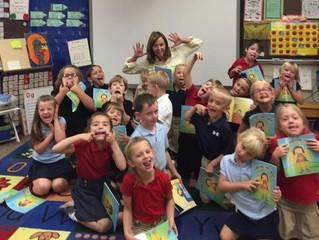 KHQA Covers author visit at St. Peter School