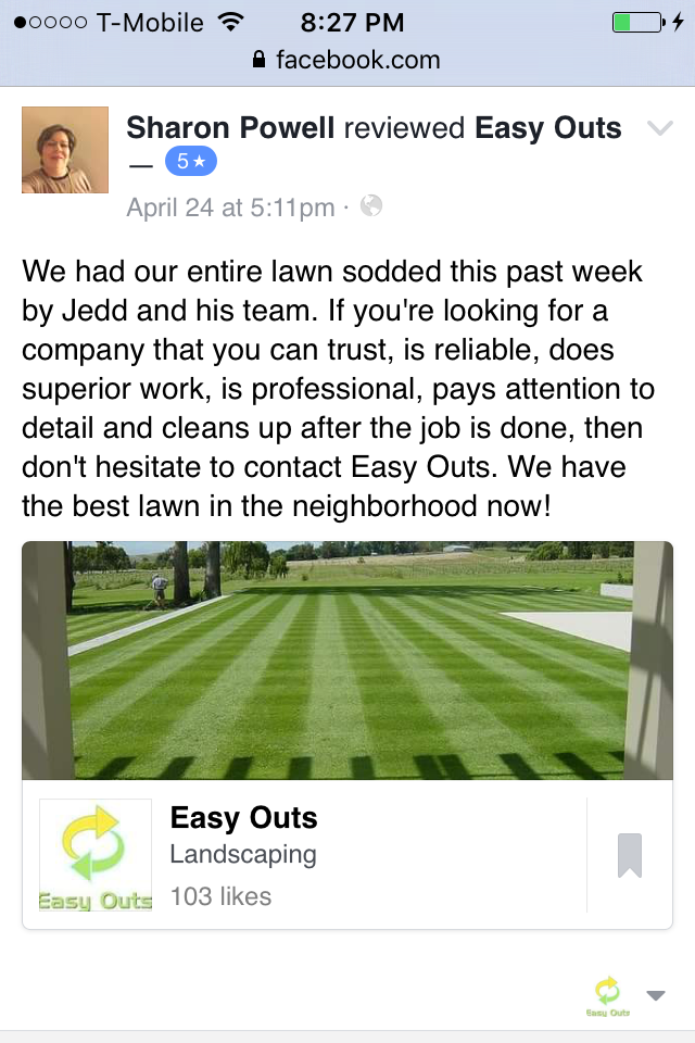 Bel Air Sod Installation Review