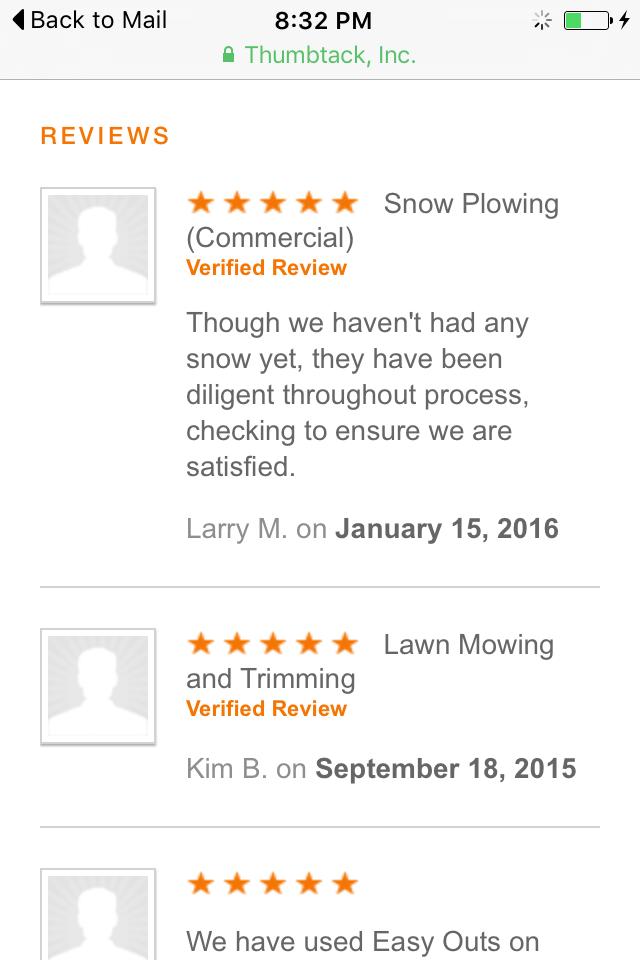 Bel Air Snow Plowing Review