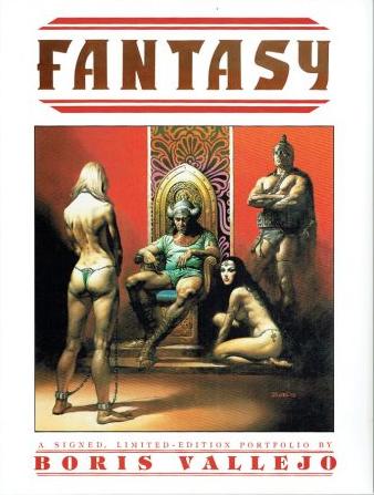 Fantasy - A Signed, Limited Edition Portfolio by Boris Vallejo