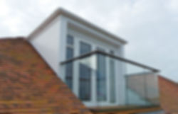 Hybrid Glass Balustrade
