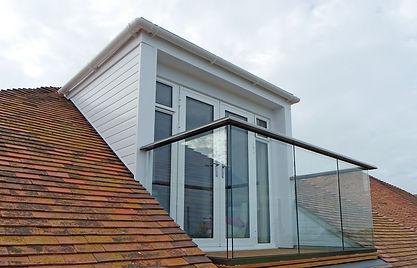 Hybrid Glass Balustrade