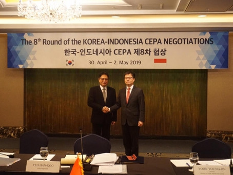 CEPA Marks New Era of the Trade Relations between South Korea and Indonesia