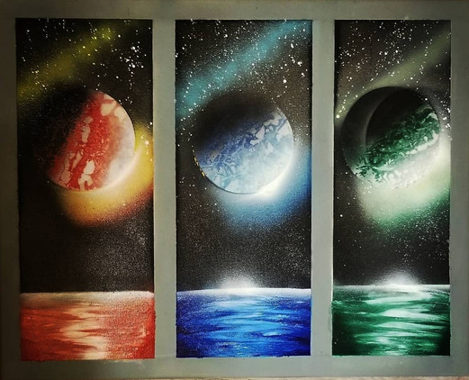 THE SPECTRUM OF PLANETS