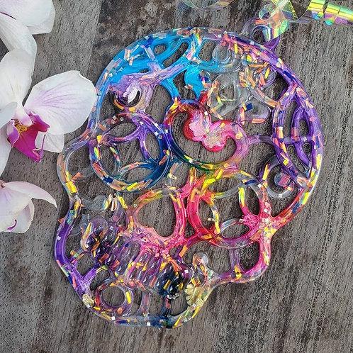 Crystal Skulls Suncatcher