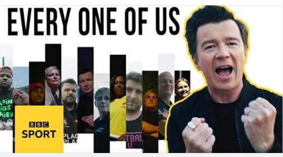 Every One of Us - Rick Astley feat The Unsung Heroes