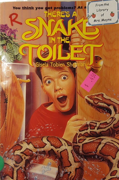 Snake in the Toilet