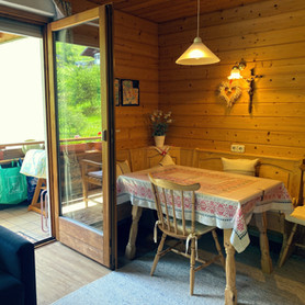 Gästehaus Mair, Ferienwohnung 1, Essnische 3.JPG