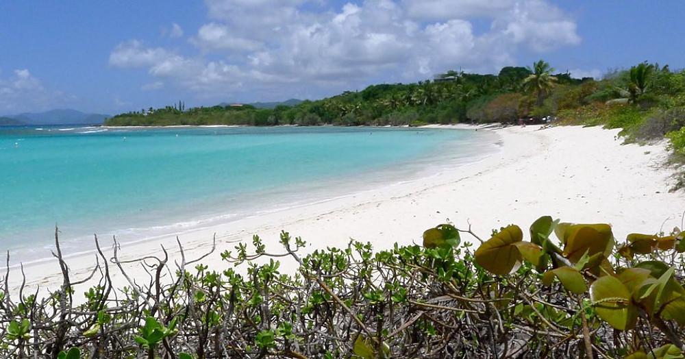 Gözlerden uzak Lindquist Plajı