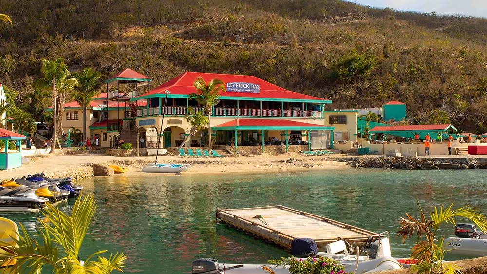 Leverick Bay Restaurant BVI Caribbean