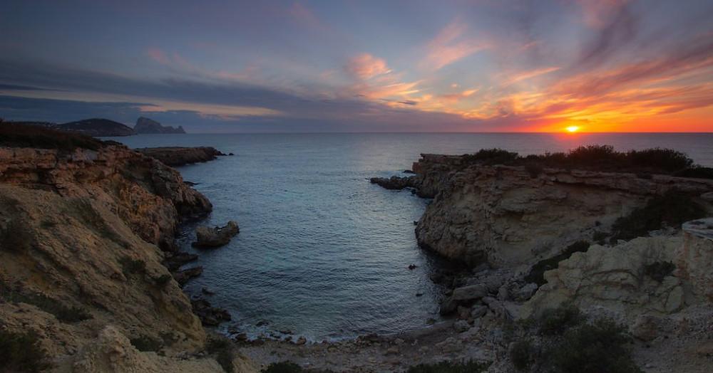 Balearics Ibiza Cala Llentia Plajı