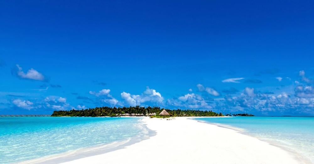 Nalaguraidhoo Beach Güney Ari Mercan Adası Maldivler