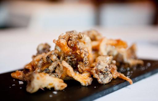 Ses Forquilles, Mahon, Menorca kızarmış tapas yemek