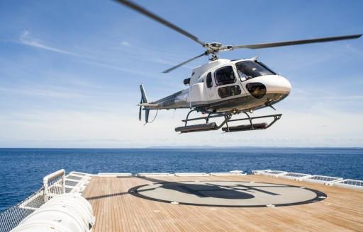 Süperyat Suri helikopter pisti