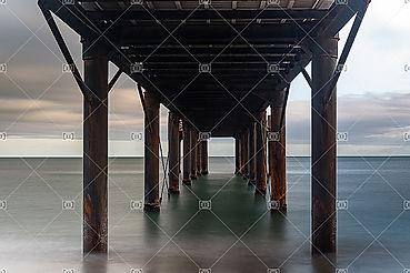 Port Leucate Aude 11370 ponton miroir d'eau
