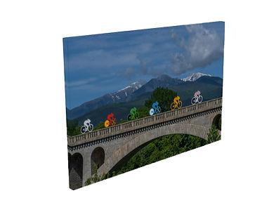 Pont de chemin de fer Céret Vallespir Pyrénées Orientales Occitanie