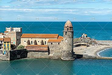 Église Notre Dame des Anges Collioure Côte Vermeille Pyrénée Orientales