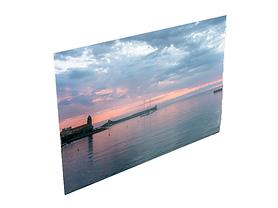 Photo d'un levé de soleil sur Collioure