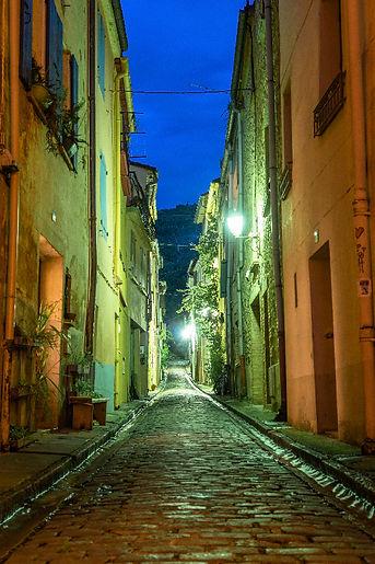 Photographie de la rue Pierre Brune Céret Vallespir Pyrénées Orientales Occitanie