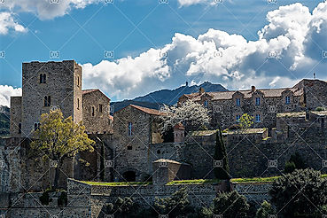 Château Royal de Collioure 66140 Méditérannée Côte Vermeille