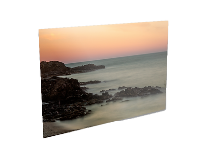 Couché de soleil plage de l'Oli Collioure