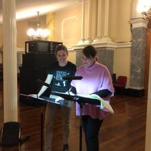 Emily Gann (Producer) & Christie Anderson (Choral Director)