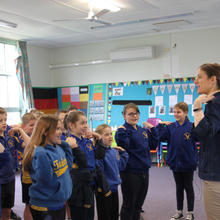 Emily Gann at Tailem Bend Primary