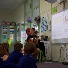 School workshops with Emily Gann