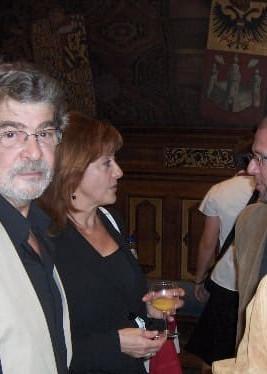 Liliane Saint-Pierre en echtgenoot Marc
