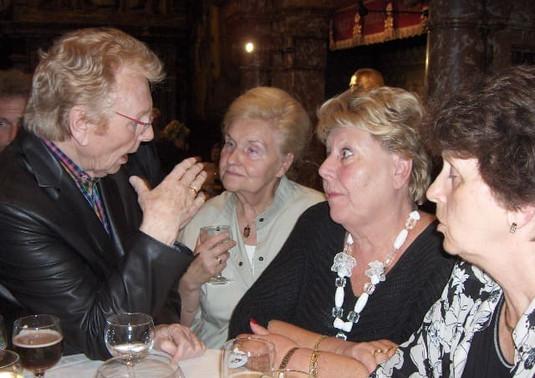 Gaston Berghmans, Simonne Vleghels en Jacky Cools