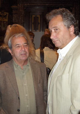 Bruno Schevernels en Lou Roman