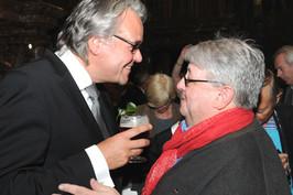 Philip Heylen en Luc Caals