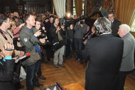 Aanwezige Vlaamse pers