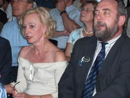 Lea Thijs en Burgemeester Jo Van Durme