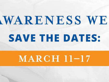 National Sleep Awareness Week? Sounds like my kind of week!
