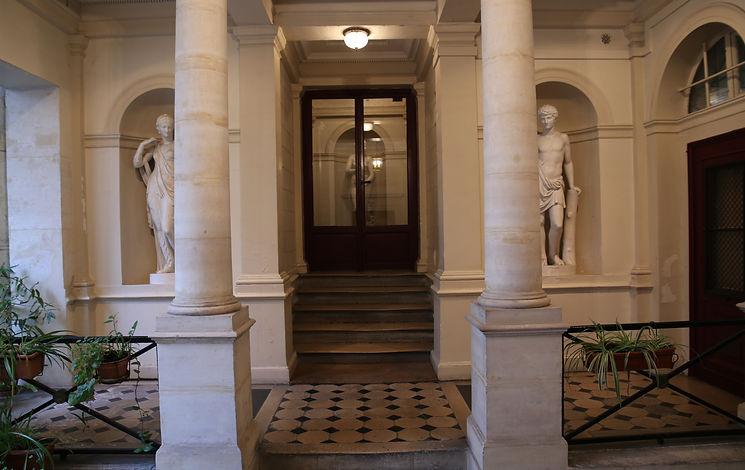 Centre des Arts Holistiques, portail
