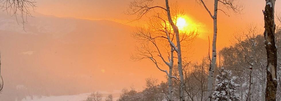 7 Sky fire on the mountain