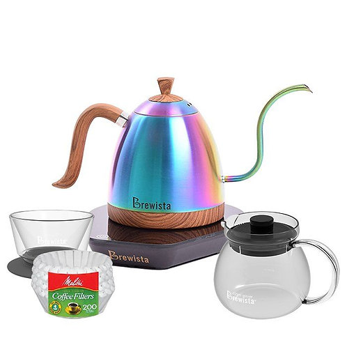 Brewista Irid. Artisan Kettle & Pour Over Bundle