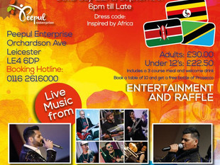 East African Night in Leicester!