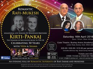 Romantic Rafi-Mukesh Night