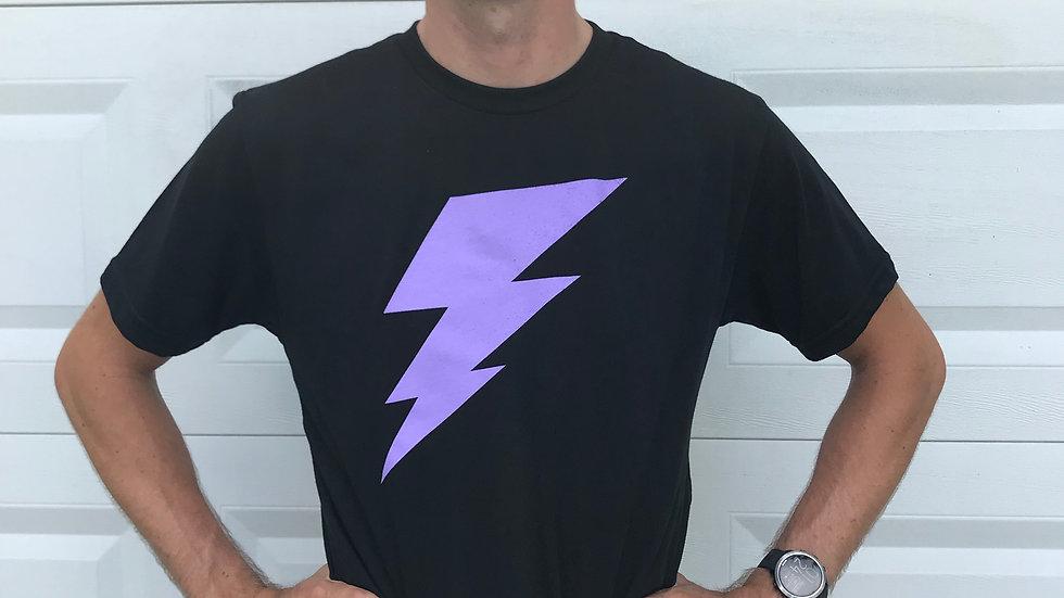 Purple Lightning Power Shirt