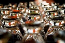 Pilsner Glasses at Dagar's Bar