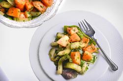 Dagar's Fresh Cantaloupe Salad