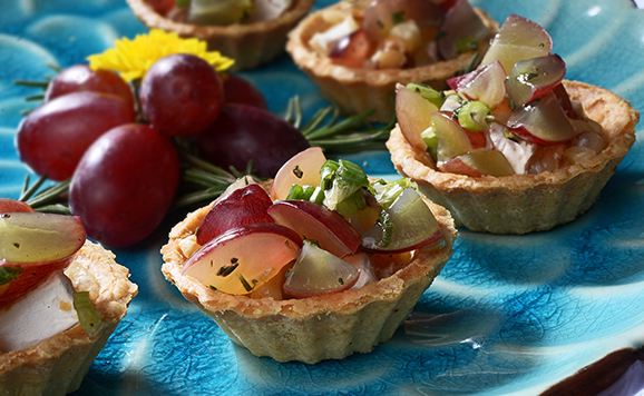 Petite Grape Tartlets